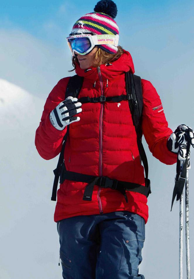 afbeelding met link naar Skikleding